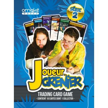 10 Boosters (+ 1) JDG Trading Cards