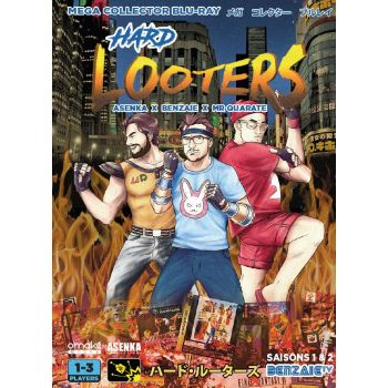 Hard Looters Saison 1 & 2 - Hard Looters © Asenka Productions & Benjamin Daniel. 2020 ALL RIGHTS RESERVED