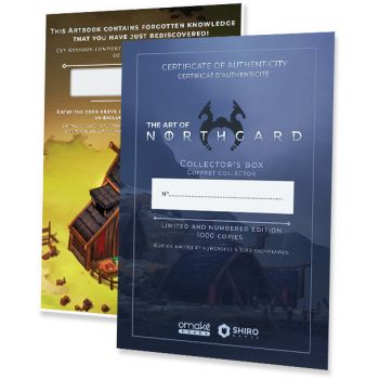 The Art of Northgard (Collector) - DLC and authenticity certificate