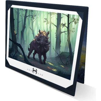 The Art of Northgard (Collector) - Cardboard display stand for lithographs