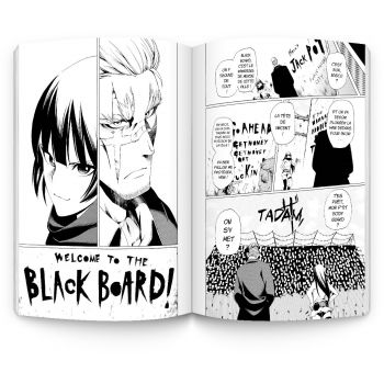 BLACK BOARD (tome 1) - © 2017 Fuyuki Izumida/SQUARE ENIX CO., LTD.