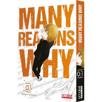 Many Reasons Why (tome 3) - © 2018 Toutarou Minami/SQUARE ENIX CO., LTD.