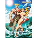 Street Fighter Swimsuit Special Collection - Sérigraphie A5 n°1
