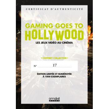 Gaming goes to Hollywood (Collector) - Certificat d'authenticité numéroté