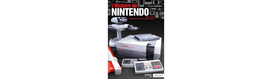 Tous les ouvrages liés à l'univers de Nintendo !