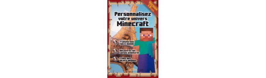Tous les ouvrages liés à l'univers de Minecraft!